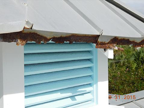 Rust on Roof
